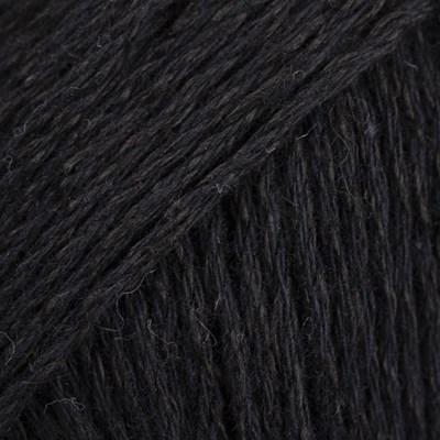 DROPS Bomull-lin 16 zwart