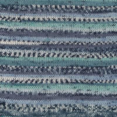 DROPS Fabel 522 turkoois/blauw
