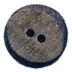 Knoop 25 mm buffelhoorn, hoekig - 538