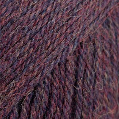 DROPS Alpaca 6736 marineblauw/paars mix