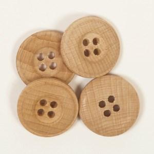 Knoop 20 mm licht hout - 501