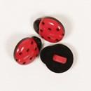 Knoop 14 mm Lieveheersbeestje - 550