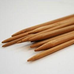 Breinaalden bamboe 20 cm zonder knop nr 6
