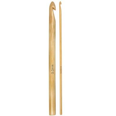 Haaknaald bamboe nr 9