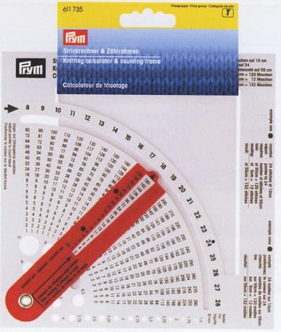 Breicalculator met breinaalddiktemeter 611735
