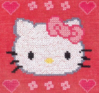 Hello Kitty Met Hartjes Bl994c63 Opop Hobbydoosnl