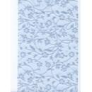 Lint 120 mm licht blauw met bloem (90 cm)