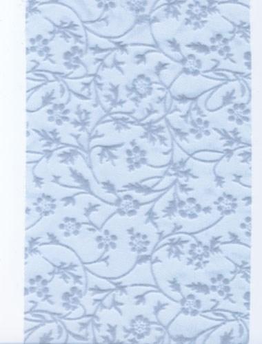 Lint 120 mm licht blauw met bloem 90 cm