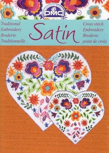 Satin - frisse bloemmotieven op=op