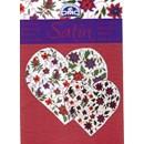 Satin - paisley met bloemen (iets beschadigd)(op=op)