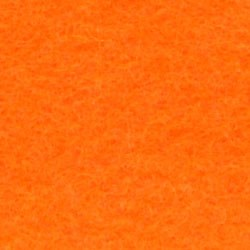 Vilt 45-504 licht oranje 45 cm breed per 10 cm