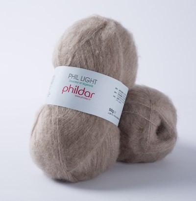 Phildar Phil light Poivre 06 - 1333 - bruin licht