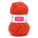 Phildar Charly Capucine 0003 - oranje rood (op=op)