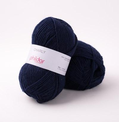 Phildar Charly Marine 0056 - 1446 - blauw donker