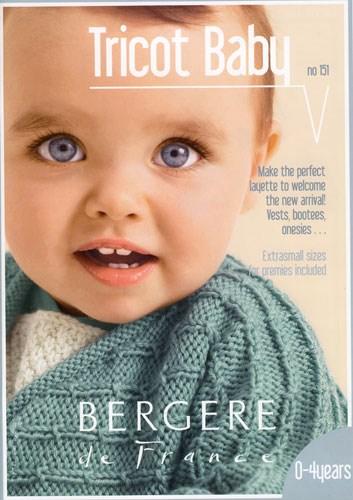Patronenboek tricot baby magazine 151 op=op