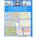 DMC creative world - ideeen om te borduren letters 14098 (p)