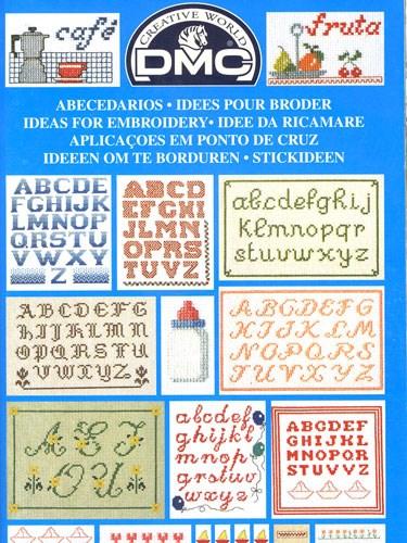 DMC creative world - ideeen om te borduren letters 14098 p