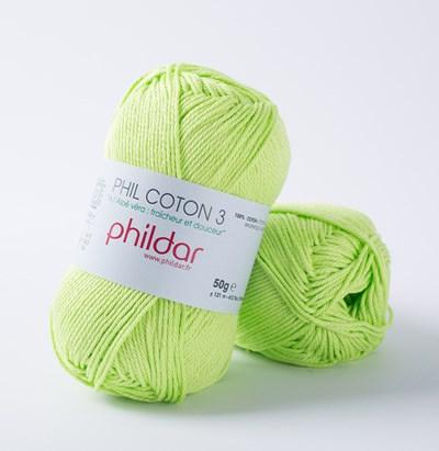 Phildar Phil coton 3 Pistache 1298 - 43