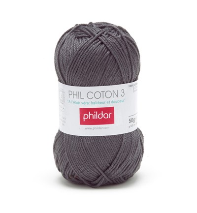 Phildar Phil coton 3 Minerai 1444 - 48