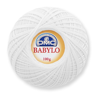 DMC Babylo nr 10 blanc 100 gram
