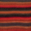 DROPS Delight 13 rood/oranje/grijs