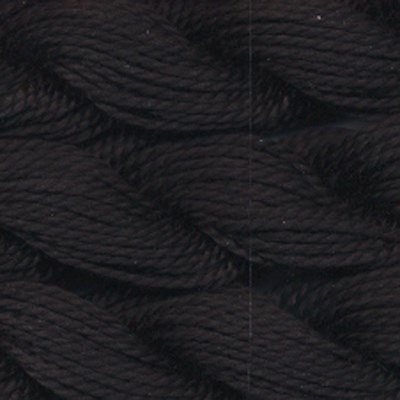 DMC cotton perle 5 - 310 zwart