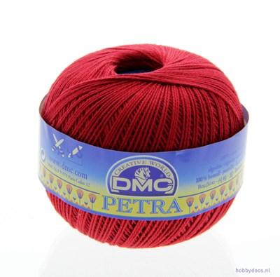 DMC Petra 3 - 05321 donker rood op=op 8x04 3x1496642