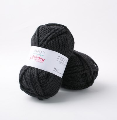 Phildar Rapido Noir 1200 - 67