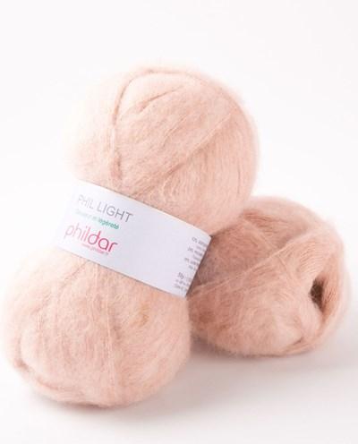 Phildar Phil light Buvard 08 - 1531 - roze huidskleur