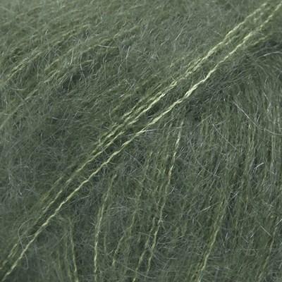 DROPS Kid silk 19 donkergroen