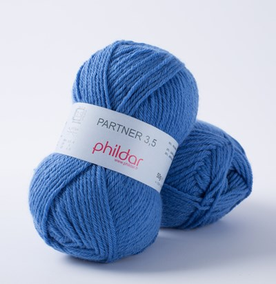 Phildar Phil Partner 3,5 Bleuet 1079 - 25