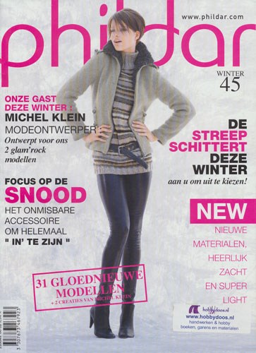 Phildar nr 45 winter 2010 voor dames