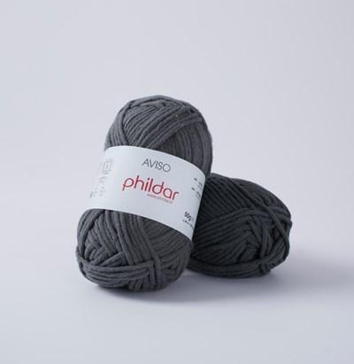 Phildar Aviso Antraciet 0116 - 1444 op=op