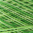 Lammy Yarns Coton crochet 415 groen gemeleerd