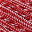 Lammy Yarns Coton crochet 407 rood gemeleerd