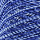 Lammy Yarns Coton crochet 421 blauw gemeleerd