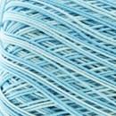Lammy Yarns Coton crochet 426 zeer licht blauw gemeleerd