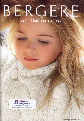 Bergere de France magazine 158 - Tricot kid 158 4 tot 16 jaar