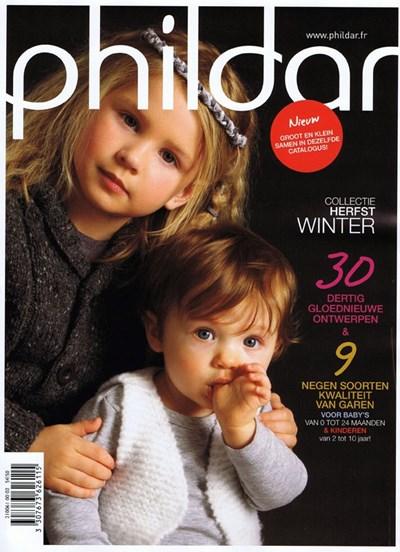 Phildar nr 61 winter 2011 2012 - 0 tot 10 jaar