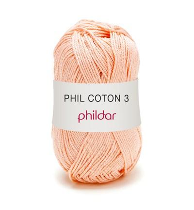 Phildar Phil coton 3 Poudre 1002 - 62 op=op