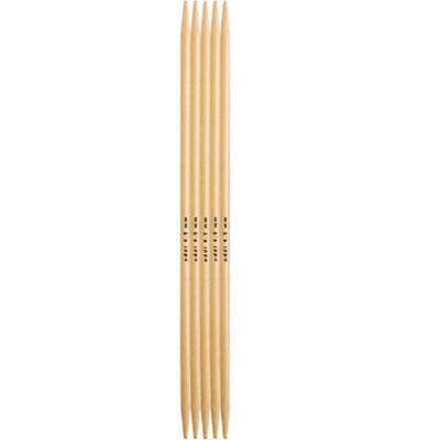 Breinaalden bamboe 20 cm zonder knop nr 10