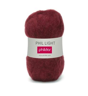 Phildar Phil light Pourpre 16 - 1388 - rood paars