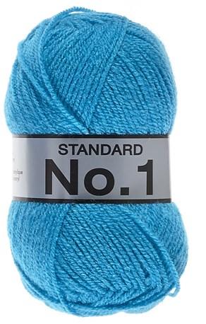 Lammy Yarns No 1 515 aqua blauw