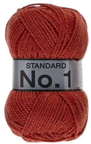 Lammy Yarns no 1 731 oranje rood