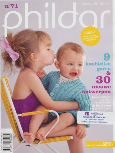 Phildar nr 71 0 tot 10 jaar 2012