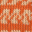 DROPS Muskat soft 19 - oranje wit