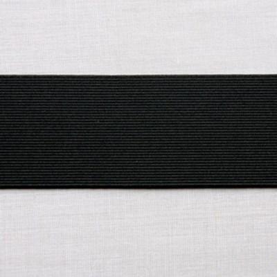 Elastiek zwart 20 mm per meter