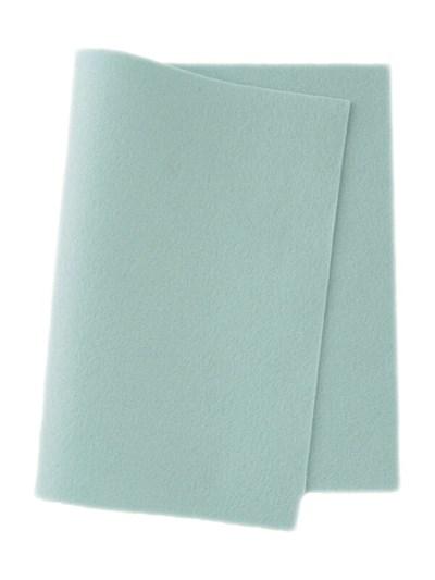 Vilt 45-617 heel zacht blauw 45 cm breed per 10 cm