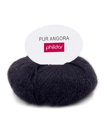 Phildar Phil Pur angora Noir