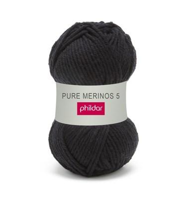 Phildar pure merinos 5 0067 noir op=op